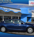 honda accord 2010 blue sedan lx gasoline 4 cylinders front wheel drive automatic 46219