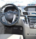 honda odyssey 2012 dk  gray van touring elite gasoline 6 cylinders front wheel drive automatic 46219