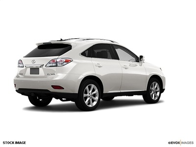 lexus rx 350 2010 white suv base gasoline 6 cylinders all whee drive shiftable automatic 07755