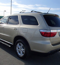 dodge durango 2011 gold suv express gasoline 6 cylinders all whee drive automatic 99352