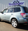 subaru forester 2010 sage green suv 2 5x limited gasoline 4 cylinders all whee drive automatic 80905