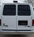 ford e series wagon 2011 white van e 350 sd xlt flex fuel 8 cylinders rear wheel drive automatic 76011