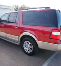 ford expedition el 2008 red suv eddie bauer gasoline 8 cylinders 4 wheel drive automatic 76011