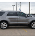 ford explorer 2011 gray suv limited gasoline 6 cylinders 2 wheel drive 6 speed automatic 77471