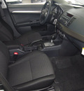 mitsubishi lancer 2012 black sedan se awd gasoline 4 cylinders all whee drive automatic 75150