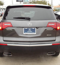 acura mdx 2010 dk  gray suv w tech gasoline 6 cylinders all whee drive shiftable automatic 77074