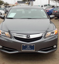 acura ilx 2013 dk  gray sedan 1 5l hybrid w tech hybrid 4 cylinders front wheel drive automatic 77074