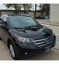 honda cr v 2013 black suv ex l gasoline 4 cylinders front wheel drive automatic 77339