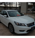 honda accord 2013 white sedan sport gasoline 4 cylinders front wheel drive cont  variable trans  77339