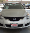 nissan altima 2012 silver coupe 2 5 s gasoline 4 cylinders front wheel drive shiftable automatic 77477