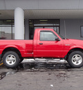 ford ranger 2002 red pickup truck edge plus gasoline 6 cylinders 4 wheel drive automatic with overdrive 61832