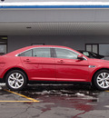 ford taurus 2011 maroon sedan sel gasoline 6 cylinders front wheel drive shiftable automatic 61832
