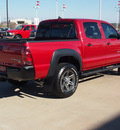 toyota tacoma 2012 red prerunner v6 gasoline 6 cylinders 2 wheel drive automatic with overdrive 77864