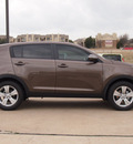 kia sportage 2013 brown lx gasoline 4 cylinders front wheel drive automatic 75150
