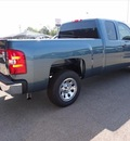 chevrolet silverado 1500 2012 blue pickup truck work truck gasoline 6 cylinders 2 wheel drive automatic 76401