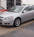 chevrolet malibu 2012 silver sedan ltz gasoline 6 cylinders front wheel drive automatic with overdrive 77802