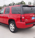 chevrolet tahoe 2011 red suv ls flex fuel 8 cylinders 2 wheel drive automatic 77304
