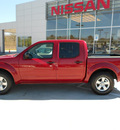 nissan frontier 2010 dk  red se v6 gasoline 6 cylinders 2 wheel drive automatic 75901