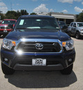 toyota tacoma 2012 blue prerunner v6 gasoline 6 cylinders 2 wheel drive automatic 76011