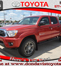toyota tacoma 2012 red prerunner v6 gasoline 6 cylinders 2 wheel drive automatic 76011