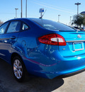 ford fiesta 2013 blue sedan 4dr sdn se gasoline 4 cylinders front wheel drive automatic 75070