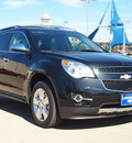 chevrolet equinox 2013 black ltz gasoline 4 cylinders front wheel drive automatic 75087