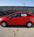 ford fiesta 2013 red sedan se gasoline 4 cylinders front wheel drive automatic 75235