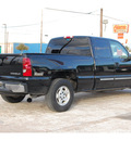 chevrolet silverado 1500 2003 black pickup truck ls gasoline 8 cylinders rear wheel drive automatic 77504