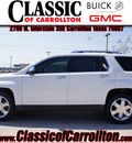 gmc terrain 2012 white suv slt 2 flex fuel 6 cylinders front wheel drive automatic 75007