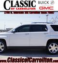 gmc terrain 2012 white suv slt 2 flex fuel 6 cylinders front wheel drive automatic 75007
