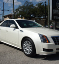 cadillac cts 2013 white diamond sedan 3 0l luxury gasoline 6 cylinders rear wheel drive automatic 77002