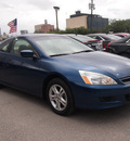 honda accord 2006 blue coupe ex gasoline 4 cylinders front wheel drive automatic 77002