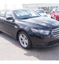 ford taurus 2013 black sedan sel gasoline 6 cylinders front wheel drive automatic 77074