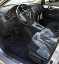 nissan sentra 2013 silver sedan sr 4 cylinders front wheel drive cont  variable trans  75150