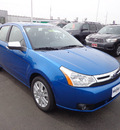 ford focus 2010 blue sedan sel gasoline 4 cylinders front wheel drive not specified 45342