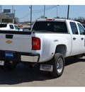 chevrolet silverado 3500hd 2012 white work truck diesel 8 cylinders 4 wheel drive allison 76801