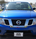 nissan frontier 2012 blue sv v6 gasoline 6 cylinders 2 wheel drive automatic 76018