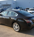 nissan maxima 2013 black sedan 3 5 sv gasoline 6 cylinders front wheel drive automatic 76116