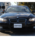 bmw 3 series 2009 black coupe 328i gasoline 6 cylinders rear wheel drive automatic 77002
