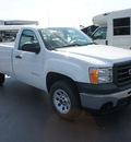 gmc sierra 1500 2012 summ white work truck flex fuel 8 cylinders 2 wheel drive 4 speed automatic 76087