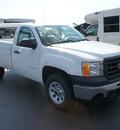 gmc sierra 1500 2012 summ white work truck flex fuel 8 cylinders 2 wheel drive 4 speed automatic 76087