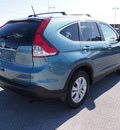 honda cr v 2013 blue suv ex l w navi gasoline 4 cylinders front wheel drive automatic 28557