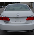 honda accord 2013 white sedan lx gasoline 4 cylinders front wheel drive automatic 28557