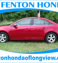 chevrolet cruze 2011 red sedan lt fleet gasoline 4 cylinders front wheel drive automatic 75606
