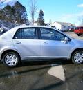 nissan versa 2011 silver sedan gasoline 4 cylinders front wheel drive automatic 13502