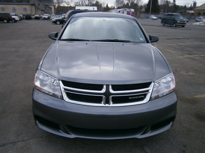 dodge avenger 2012 gray sedan se gasoline 4 cylinders front wheel drive automatic 13502