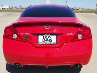 nissan altima 2012 red coupe 2 5 s gasoline 4 cylinders front wheel drive automatic 76018