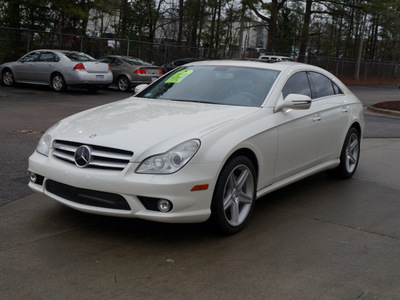 mercedes benz cls class 2009 off white coupe cls550 gasoline 8 cylinders rear wheel drive shiftable automatic 27616