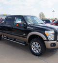 ford f 250 super duty 2013 black king ranch biodiesel 8 cylinders 4 wheel drive automatic 76108