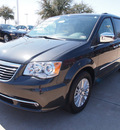 chrysler town and country 2012 dk  gray van limited flex fuel 6 cylinders front wheel drive automatic 75093